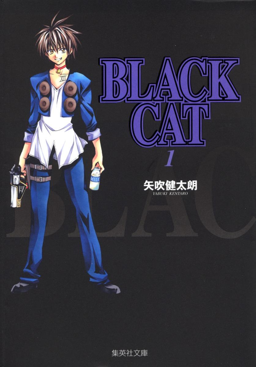 集英社文庫(コミック版)BLACK CAT 1